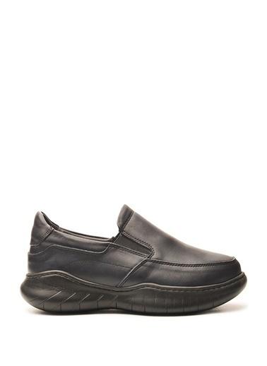 Bulldozer 210084 Erkek Deri  Comfort Ayakkabı Lacivert
